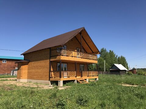 Новый дом в жилой деревне рядом Заповедной территорией - Фото 2