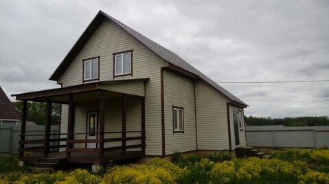 Теплый зимний брусовой дом в деревне. - Фото 1