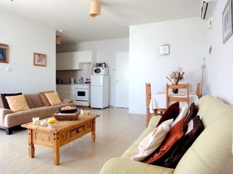Недорогой двухкомнатный Апартамент в живописном районе Пафоса - Фото 3