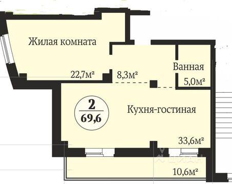 Продажа квартиры, Челябинск, Улица Татищева - Фото 1