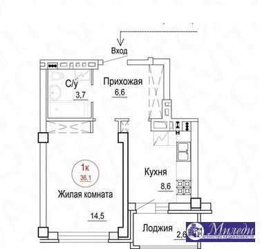 Объявление №61449705: Квартира 1 комн. Батайск, ул. Комсомольская, 1005,