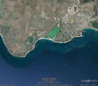 Заозерное, Лимановка, 15 соток, море 850 метров - Фото 2