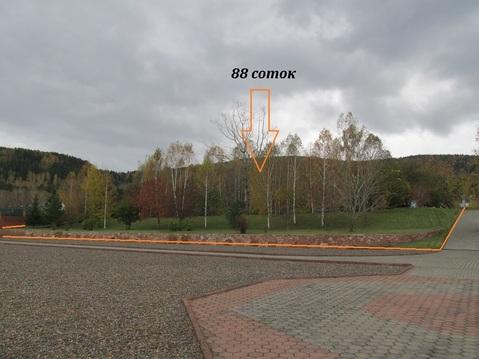 Участок 88 соток в Усть-Мане на берегу реки - Фото 3