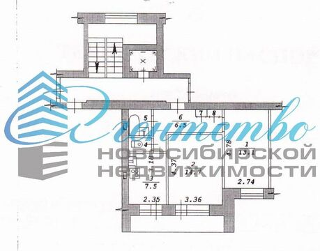 Продажа квартиры, Новосибирск, Ул. Жуковского - Фото 1