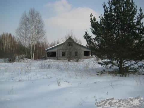 Земельный участок с недостроенным домом под прописку и регистрацию. - Фото 3