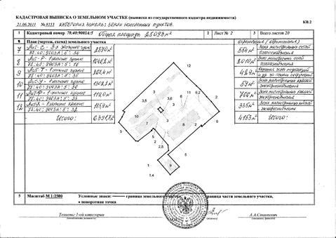 Продажа производственного комплекса зданий с участком 2,5 га. - Фото 4