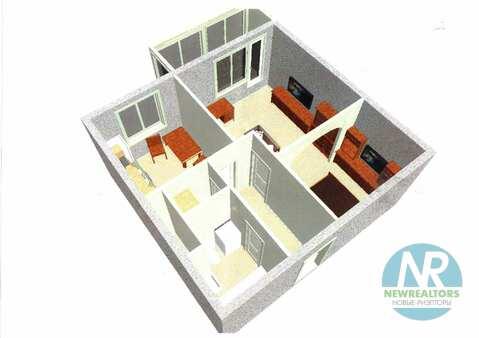 Продается 1 комнатная квартира в Коренево - Фото 2