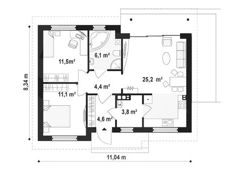 Продам: дом 82 кв.м. на участке 7.5 сот. - Фото 3