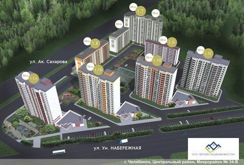 Продам 2-комн квартиру Архитектора Александрова д 8 10эт, 59кв.м 2480 - Фото 3
