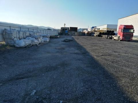 Сдаётся площадка 25 соток для хранения грузов или спецтехники.