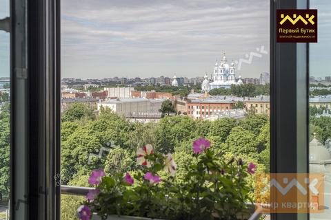 Квартира с прекрасным видом на величественный Смольный собор! - Фото 4
