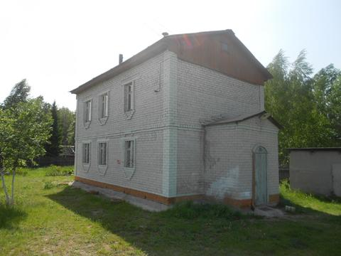 2 этажный кирпичный дом в с.Криуша,40 км. от Рязани. - Фото 1