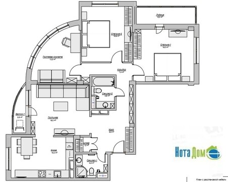 Продаётся 4-комнатная квартира по адресу Южный 7 - Фото 3