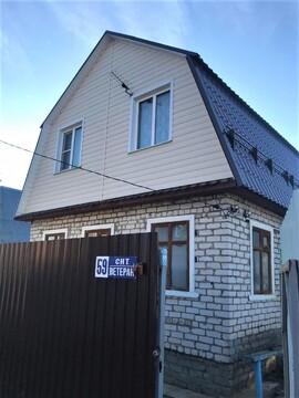 Дача 80 м2 с Пропиской, Баня, Газ, СНТ Ветеран - Фото 1