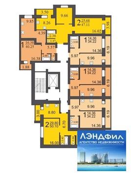1 комнатная квартира, Романтиков, 46 А - Фото 5