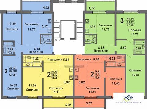 Продам двухкомнатную квартиру Матросова 37а 44 кв.м 4 эт 2000т.р - Фото 2