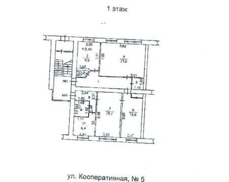 Помещение 89,2 кв.м. на первом этаже жилого дома, Кыштым - Фото 1