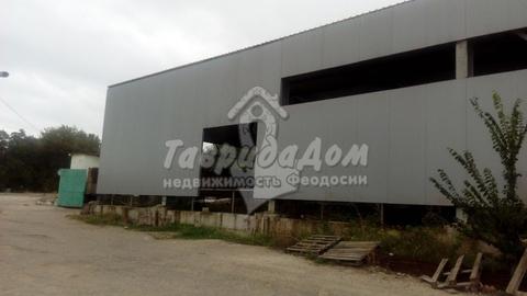Сдам складское помещение 1000 мв здании класса A в Феодосии - Фото 1