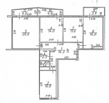 Продажа квартиры, Яблоновский, Тахтамукайский район, Иркутско-Пинской . - Фото 2