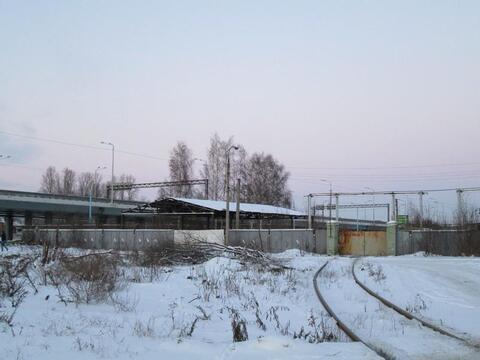 Участок в Ярославле промназначения на первой линии, М-8, ж/д ветка - Фото 1