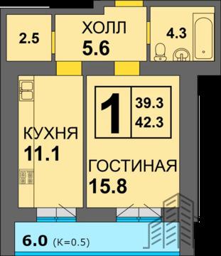 Объявление №62291288: Квартира 1 комн. Калининград, Дадаева, 238,