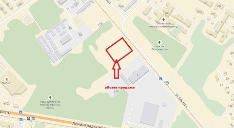 Продается земельный участок 5447 кв.м. в Дзержинском р-не около ул. . - Фото 2
