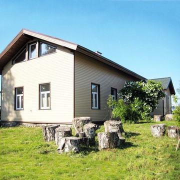 Реставрированный финский дом 158 кв.м на 33 сотках в Мельниково - Фото 1