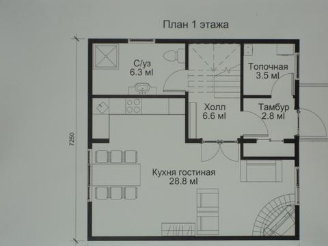 Продается дом 100 кв.м. с земельным участком 6.3сот, за Областной . - Фото 3