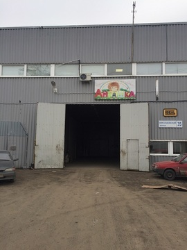 Аренда холодного, складского помещения в пос. Шушары, 1296м2, 1эт - Фото 2