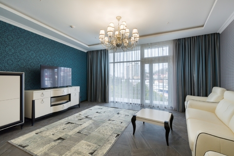 Абсолютно новая квартира 105 м2 с дизайнерским ремонтом в Сочи! - Фото 1