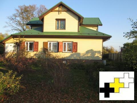 Дом ИЖС 350м2 на участке 22 сотки в с жд станцией Поварово. - Фото 1