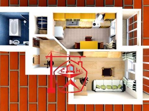 Продажа однокомнатной квартиры в новостройке на проезде Весенний 3, Купить квартиру в Курске по недорогой цене, ID объекта - 320006242 - Фото 1