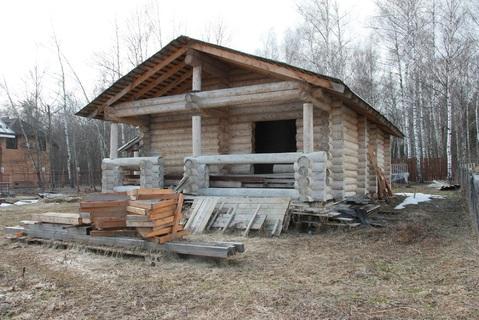 "Бревенчатый дом 120 кв.м. в д. Зиновкино, ДНП ""Сиеста"" - Фото 3"