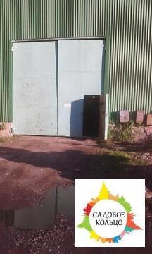 Под склад, ангар из металлоконструкций, неотапл, выс.: 5 м, пол бетон - Фото 1
