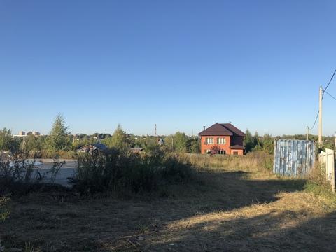 Участок, 7,5 соток, в черте города. г. Чехов, Ул. лосиная - Фото 2