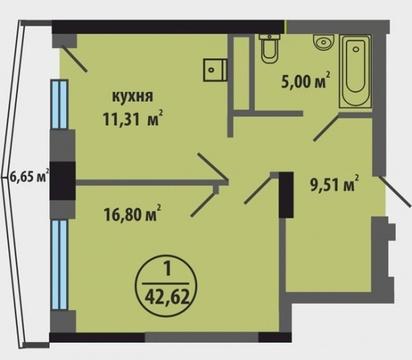 Продажа квартиры, Тюмень, Ул. Закалужская, Купить квартиру в Тюмени по недорогой цене, ID объекта - 318370153 - Фото 1
