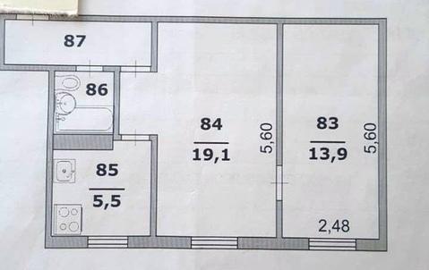 Продается отличная 2х комн. квартира пр-т Б.Хмельницкого, д.114 - Фото 4