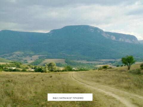 Продается земельный участок с озером ЛПХ 1га село Аромат, Горный Крым - Фото 1