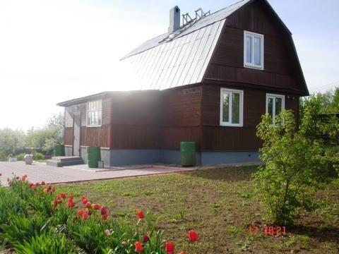 Дом 80 кв.м на участке 17 соток в деревне Ближнево , Дмитровского р-на - Фото 1