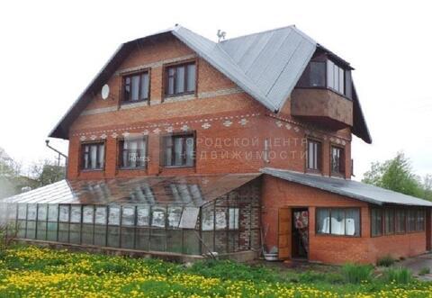 Дом 375 кв.м, Участок 17 сот. , Минское ш, 80 км. от МКАД. - Фото 1