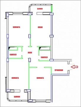Продаётся 3-х комнатная квартира ЖК Александровский парк - Фото 2