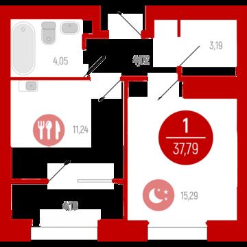 Продажа квартиры, Тюмень, Ул. Газовиков, Купить квартиру в Тюмени по недорогой цене, ID объекта - 318370181 - Фото 1