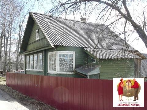 Дом с баней в д. Зайцево Крестецкого р-на Новгородской области - Фото 1
