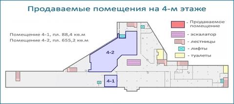 Псн 655 кв.м в действующем тоц в центре Красногорска, 6 км от МКАД - Фото 5
