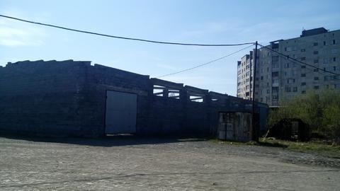 Незавершенное строение.цех 950кв.м.шбл.кр.к. - Фото 1