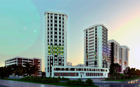 Квартиры, ЖК Рябиновый квартал, ул. Рябинина, д.19 - Фото 1