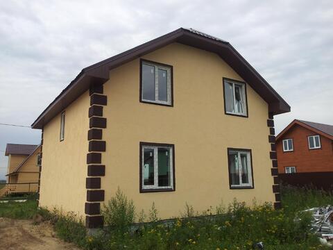 Продается новый блочный дом 160м2 на 10 сот. д.Малышево, Раменский р-н - Фото 3