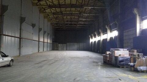 Теплый склад с высокими потолками - Фото 1