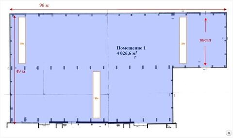 Произв-складское помещение 4000 м2 в Раменском, Михалевича 49 - Фото 5