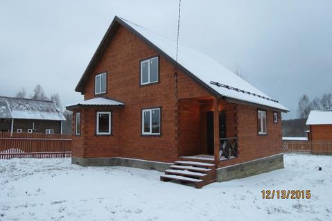 Дом с Газом, 12 соток, д. Нововоскресенское - Фото 1